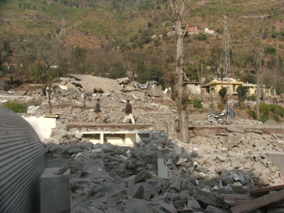 Destroyed School